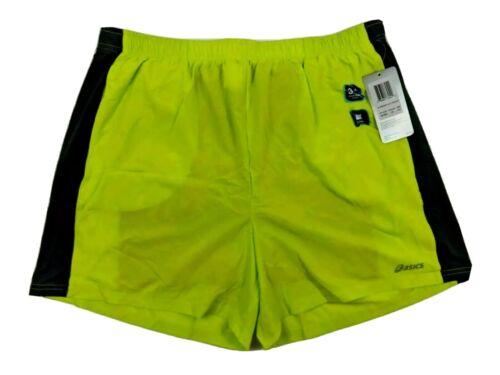 Asics Mens Versatility 3N1 Shorts Neon Green 4 Way Stretch D