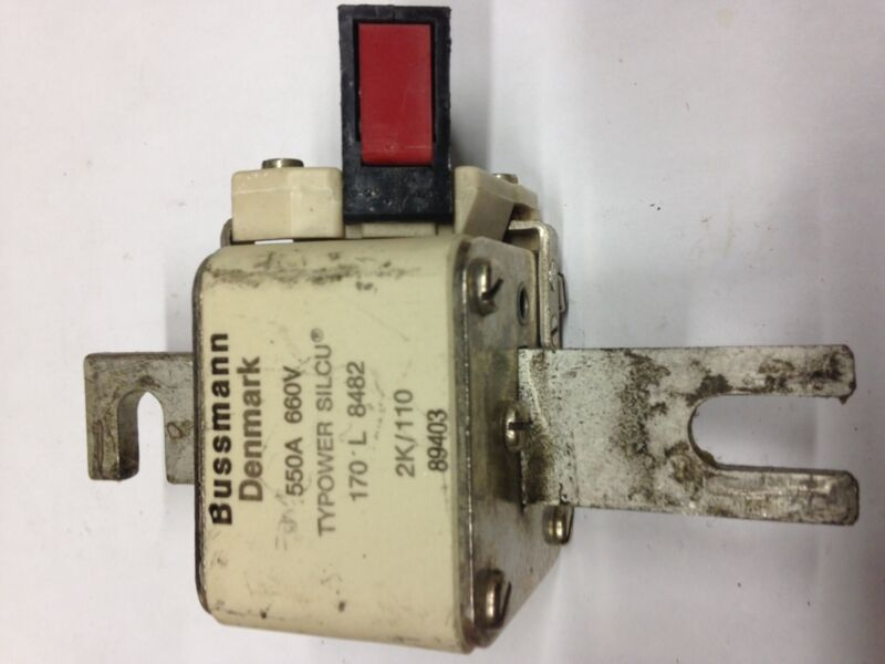 170L8482 Bussman Denmark Fuse 550A with Microswitch