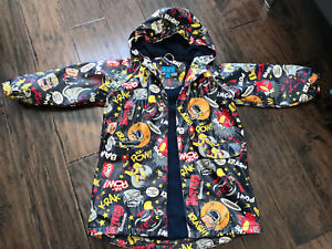 Children's Place Fleece Lined Raincoat, Size 4T