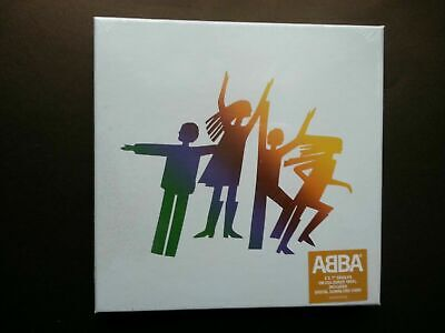 "ABBA - THE ALBUM (3 x COLOURED VINYL NUMBERED 7"" BOX SET - NEW SEALED)"