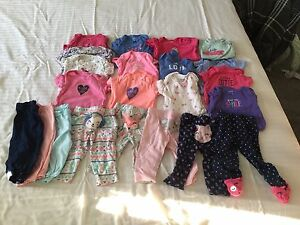 Lot of 22 Pieces of 3-6 Month Girls clothing $40