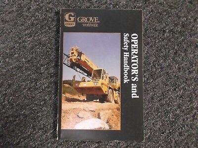 Grove Rt515 Rt518 Rt520 Rt522 Crane Rough Terrain Owner Operator User Manual