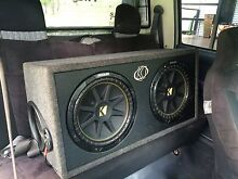 """Kicker subs 12"""" 2 ohm Girraween Litchfield Area Preview"""