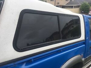 Holden rodeo canopy white Prestons Liverpool Area Preview