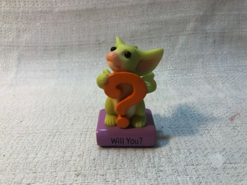 Whimsical World Of Pocket Dragons Messages Will You Dragon Figurine New