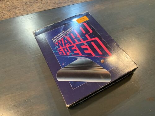 Rare Boxed Cinemaware Warp Speed fastload cartridge Commodore 64 128 TESTED