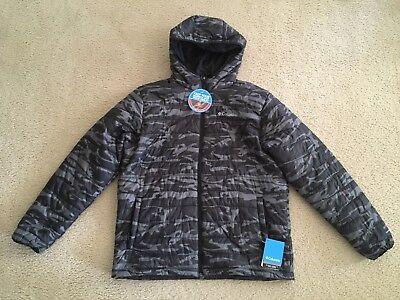 Columbia Men/'s Crested Butte Omni-Heat Hooded Jacket Peatmoss