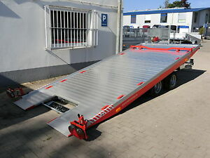 PKW-Anhänger Autotrailer Autotransporter Autotransportanhänger Trailer ankippbar