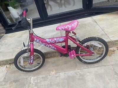 """Spike Butterfly 14"""" Kids Bike - Pink"""
