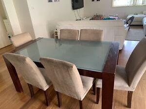 6 piece dining suite