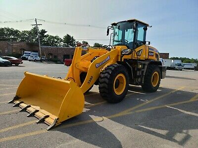 2021 Gckm 3300 Wheel Loader Brand New 20000 Lb Operating Weight Snow Package