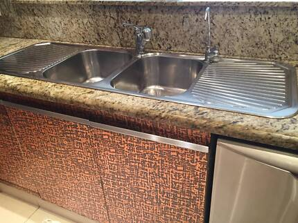Kitchen sink with Mixer & Filter tap Westleigh Hornsby Area Preview