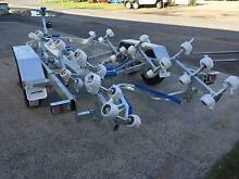 Seatrail 6.4m 2800kg Rated Rollered Boat Trailer ALKO Brakes Hemmant Brisbane South East Preview