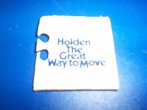 Holden HQ match book, circa 1971 Flagstaff Hill Morphett Vale Area Preview
