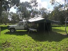Toyota LandCruiser 4.2L diesel 4x4 Ute + slide on camper. Stepney Norwood Area Preview