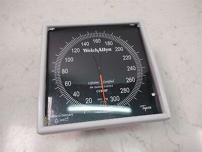 Tycos Welch Allyn Ce0297 Blood Pressure Meter Sphygmomanometer W Swivel Mount