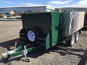 8x5 Custom Landscaping Tandem Trailer, Mower Box, 3ft Sides Thomastown Whittlesea Area Preview