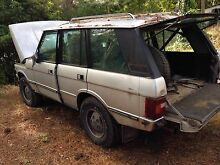 Range Rover V8 dual fuel wagon for restoration or parts Hahndorf Mount Barker Area Preview