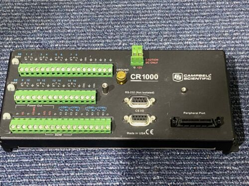 Campbell Scientific CR1000 Data Logger With CR1000M Measurement & control Module