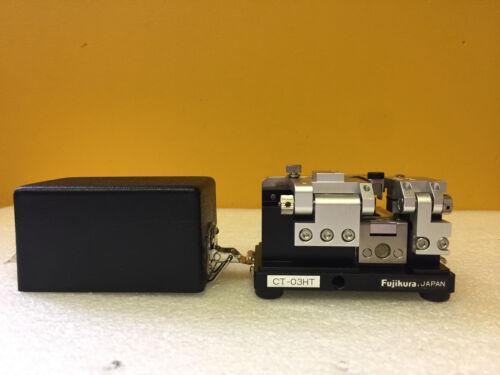 Fujikura CT-03HT High Precision, Fiber Cleaver. For Strength Splicing. Tested!