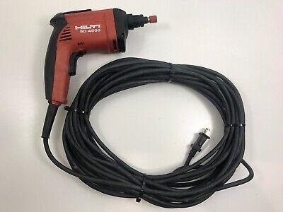 Hilti Sd4500 14 Wood Drywall Screwdriver Screwgun 50 Cord