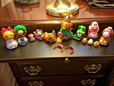 30 Piece Lot Disney Tsum Tsum Christmas Advent Calendar Pooh Figures Replace