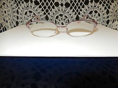 Essential Eyewear Eyeglass Frames EN4707 Half Rim 52[]18-135mm Mauve