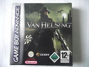 gameboy advance game van helsing gba ds lite new sealed 3348542189959 ebay. Black Bedroom Furniture Sets. Home Design Ideas