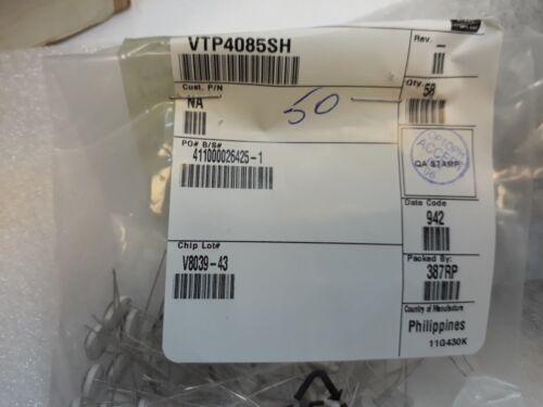 Lot x 54   VTP4085SH      Photodiode; 925nm; 400-1100nm; Mounting: THT; 50nA