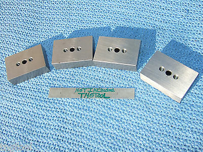 Blocks 1-2-3 4 Parallels Toolmaker Machinist .31 Inspection Grind Mill Qa