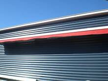 Red motorised awning Wallaroo Copper Coast Preview