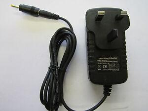 9V 3A Mains AC-DC Adaptor Power Supply Charger Plug for Polaroid Pogo Camera