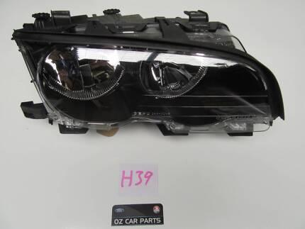 BMW 3 E46 2 DOOR BLACK INNER  HEADLIGHT LAMP******2001 Smithfield Parramatta Area Preview