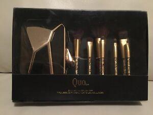 Quo make-up brush set - BRAND NEW