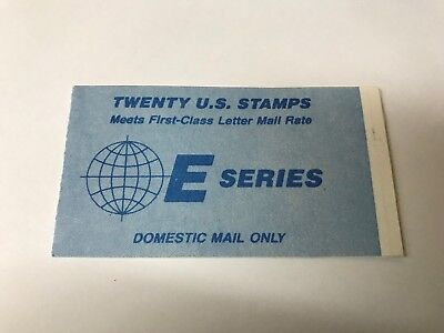 US E series Booklet Full unused (6002), used for sale  Shipping to India