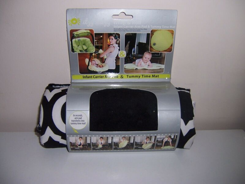 Itzy Ritzy wrap and Roll infant carrier arm pad tummy time mat new