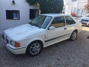 Ford escort RS Turbo 1989 in Menorca Spain Spanish reg Lhd Left hand drive