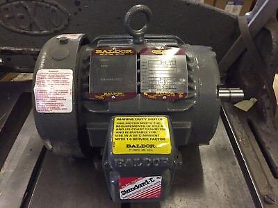 Baldor 1 Hp Motor Cat No. Cp3581t-4 1740 Rpm Tefc 143t Frame 460v