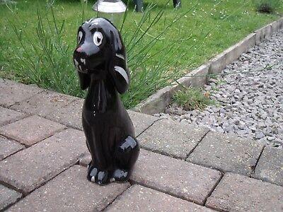 Black Poodle Dog Figurine/Ornament c1950s/1960s