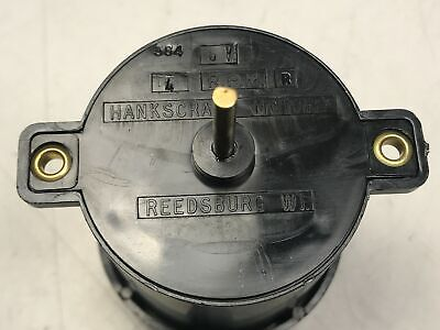 Hankscraft High Torque Dc Electric Gear Motor 4 Rpm 6v Reversible Display