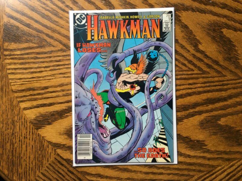 HAWKMAN #9 (1987DC)
