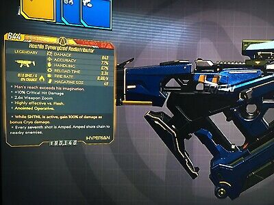 **Borderlands 3 Anointed Redistributor Fire 49 MAG SNTNL Lev 57 XBOX RARE**, used for sale  Shipping to India