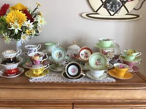 Tasse et soucoupe/tea cup and saucer