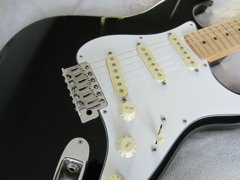 Fender Stratocaster Black - Upgraded (Collection Only)