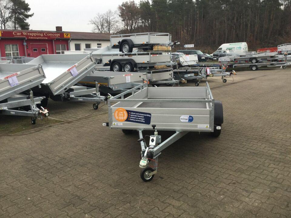 ⭐Anhänger Saris McAlu pro DW150 1500 kg 255x153x43 cm Reling NEU in Schöneiche bei Berlin