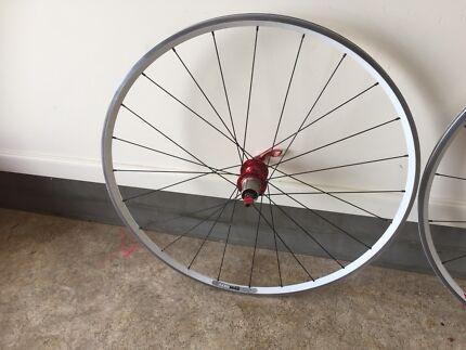 Velocity 10 speed bike wheels