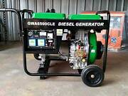 PORTABLE DIESEL GENERATOR 6kVA 240V in Open Frame Raceview Ipswich City Preview