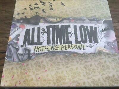 ALL TIME LOW - NOTHING PERSONAL - NEW & SEALED - CD