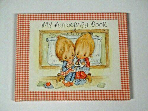 Vintage Betsey Clark Autograph Book ~ Hallmark ~ Friends Memories Paper