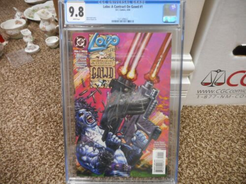 Lobo A Contract on Gawd 1 cgc 9.8 MINT WHITE pages movie TV show God Omega Men